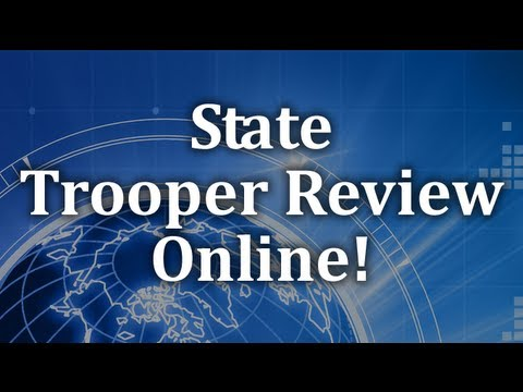 state trooper exam study guide