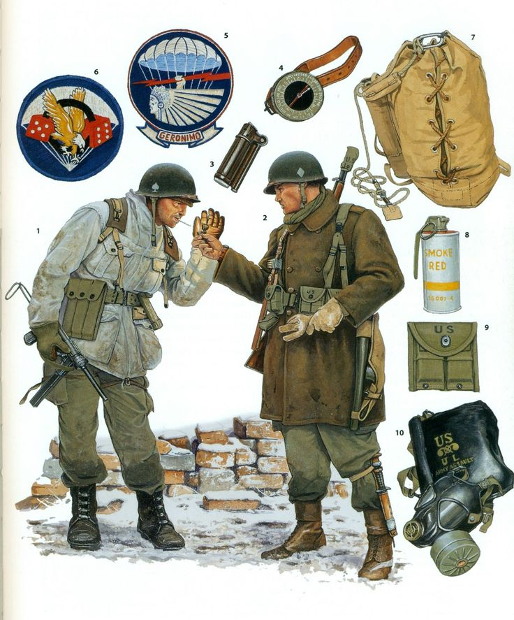 ww2 us paratrooper painting guide