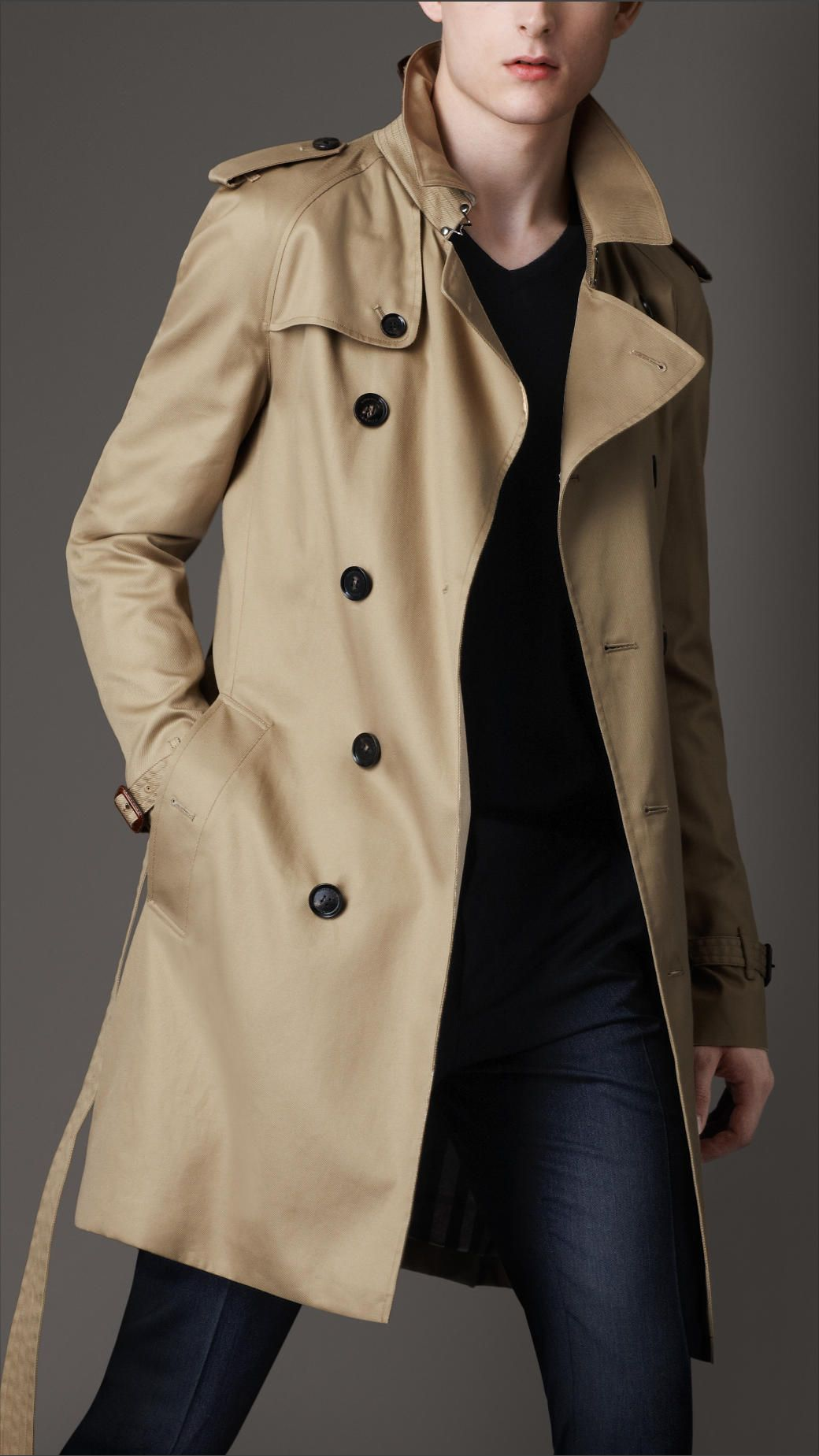 burberry trench coat style guide