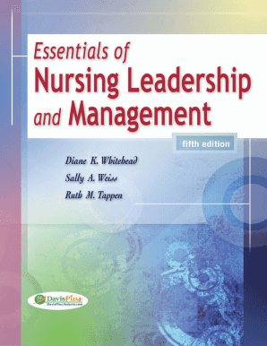 guide to nursing management and leadership pdf