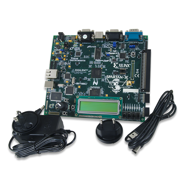 digilent spartan 3e starter board user guide