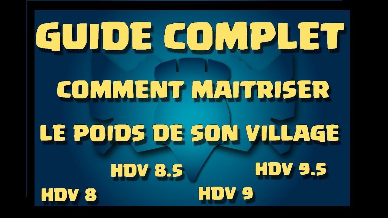 clash of clans guide complet