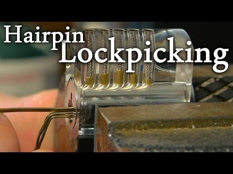 a visual guide to lockpicking