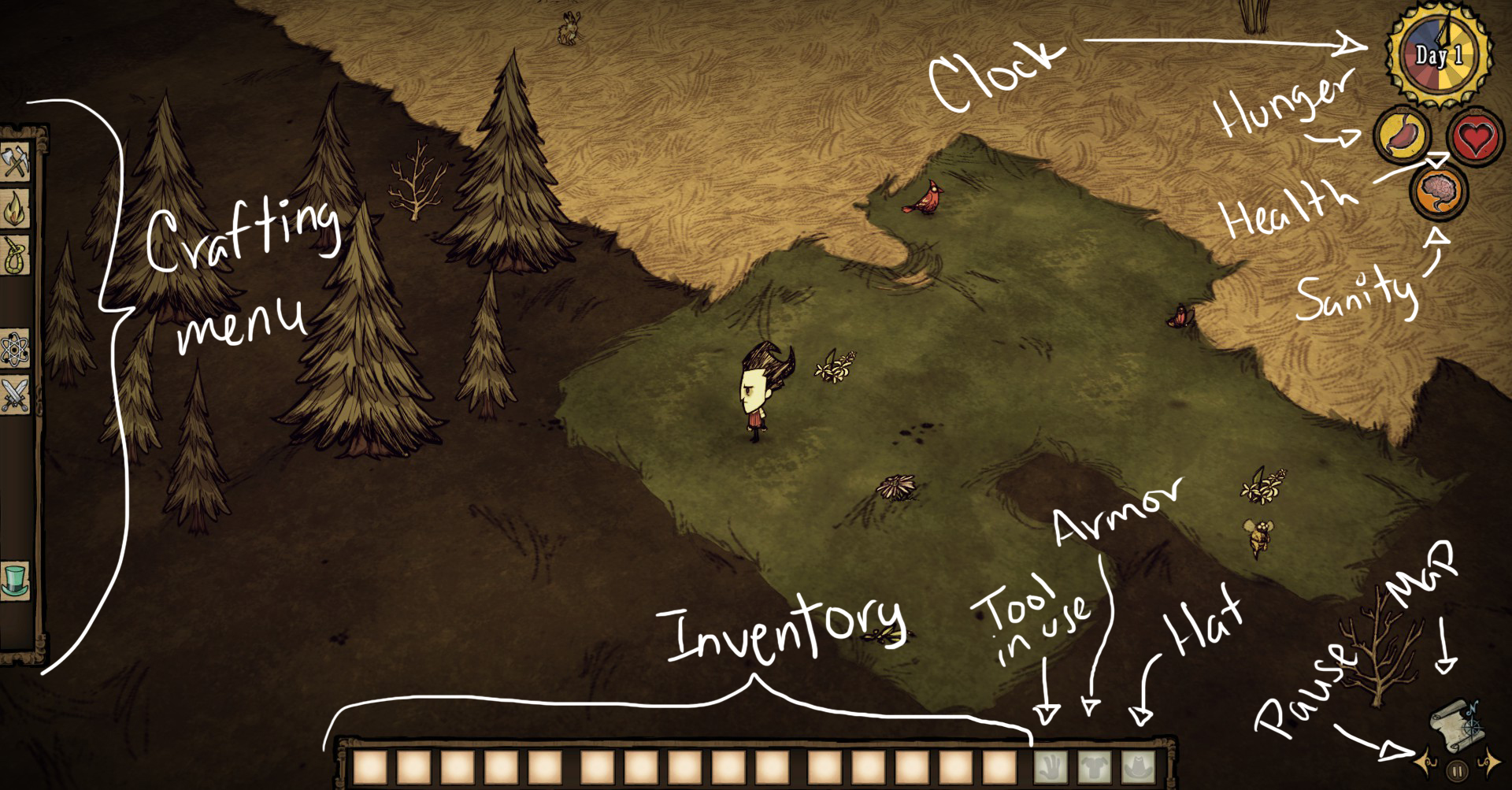 don t starve game guide