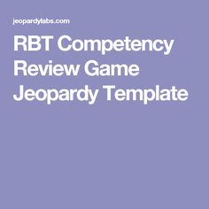 rbt competency assessment study guide
