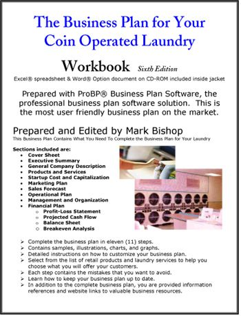 coin laundry business plan & startup guide