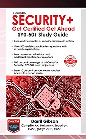 comptia security+ get certified get ahead sy0 301 study guide