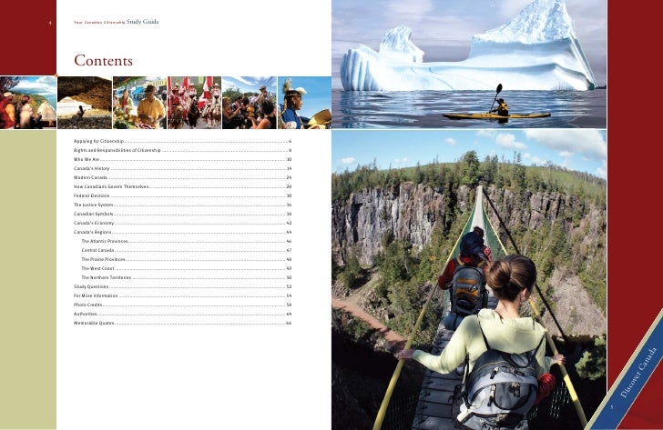 discover canada the rights and responsibilities of citizenship study guide