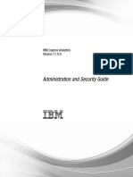 ibm cognos administration and security guide