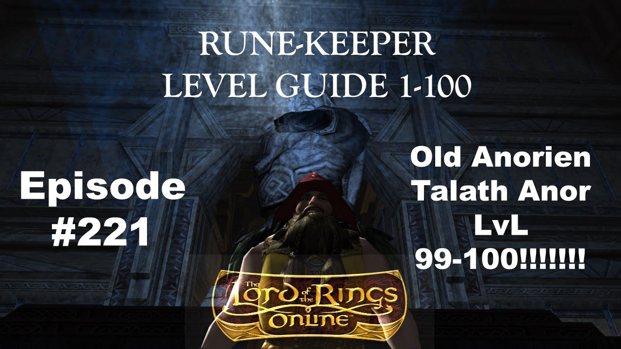 lotro leveling guide 1 100