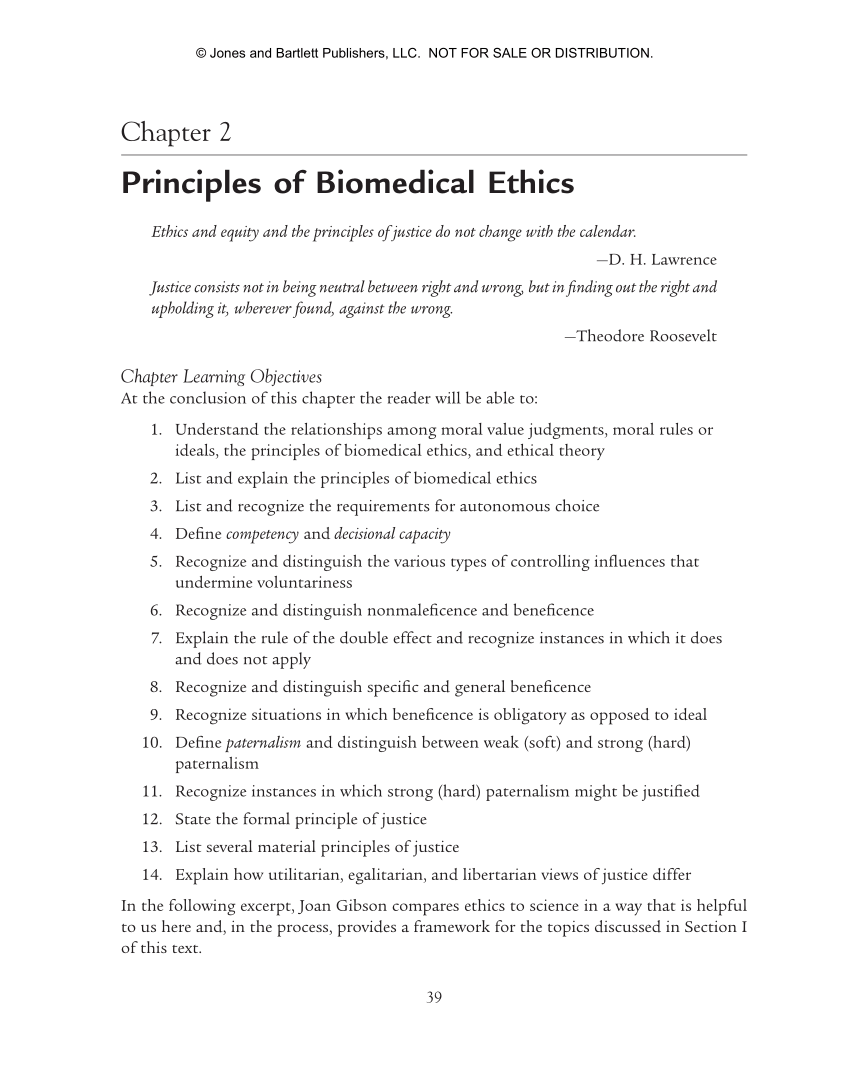 ethics of healthcare a guide for clinical practice