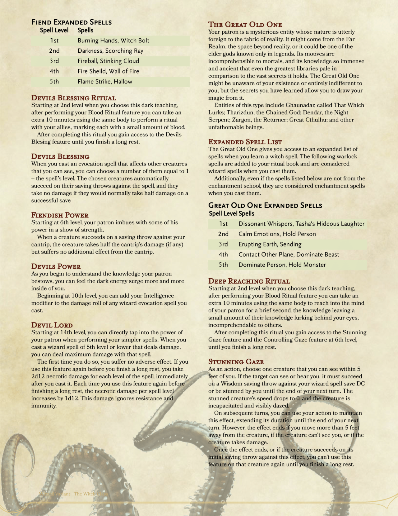 xanathar guide to everything reddit